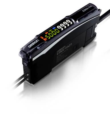 Omron Fiber Optic Sensors and amplifiers