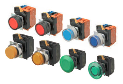 Omron Pushbutton Switches