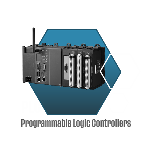 PLC with text